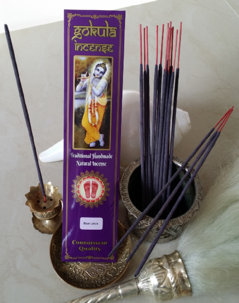 Blue Lotus Incense Sticks - 20 grams